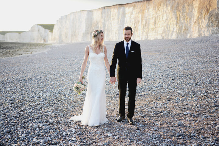 Gosia & Martial </br><small> BEACHY HEAD </small>